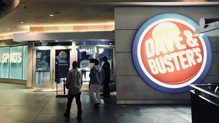 The Bachelor Party: Dave & Buster's